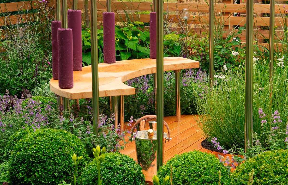Surrey garden design examples project portfolio raine for Garden gallery designs