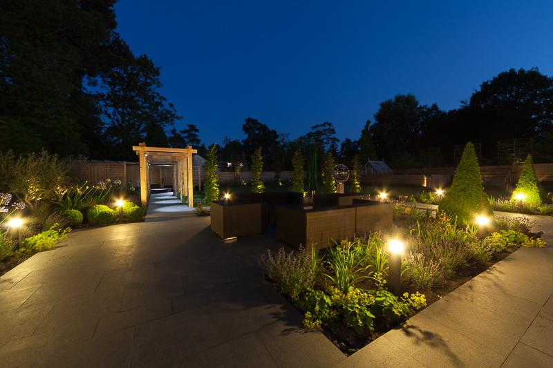 Large garden landscaping services Surrey
