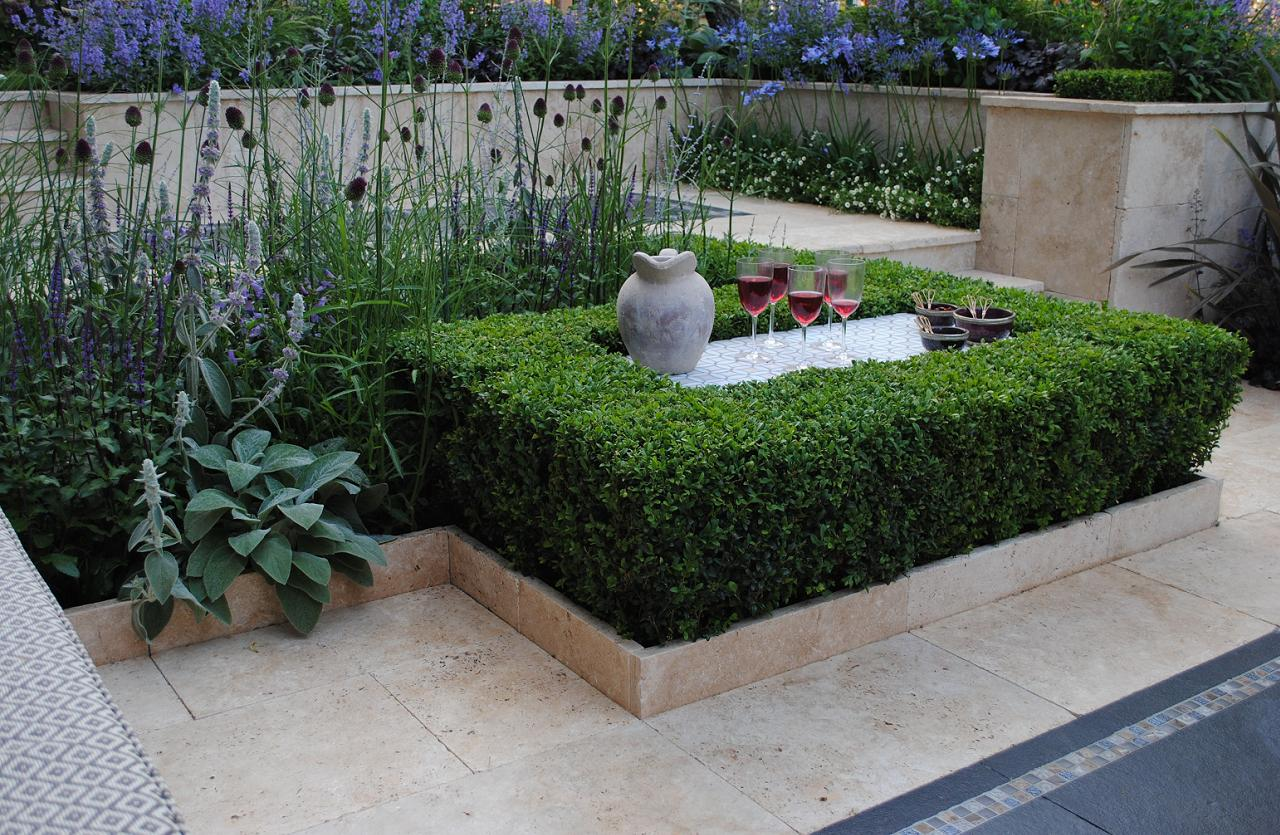 Garden Design Ideas For Small Triangular Gardens : Small gardens large corporate planting about